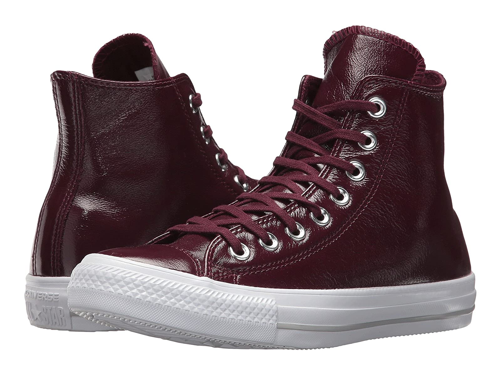 Converse Chuck Taylor® All Star® Crinkled Patent Leather HiCheap and distinctive eye-catching shoes