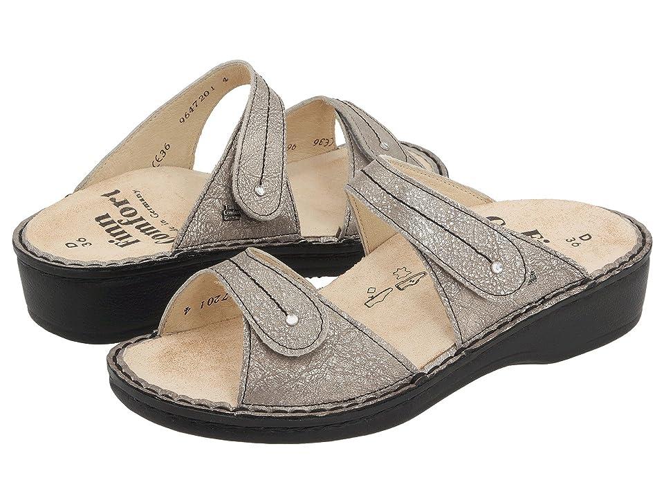 Finn Comfort Catalina 2538 (Smog Corten Leather Soft Footbed) Women