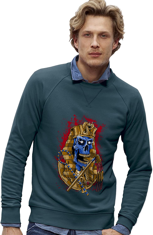 0d01caaaf2 Twisted Twisted Twisted Envy Men's Pharaoh Son Organic Cotton Sweatshirt  8b97e1