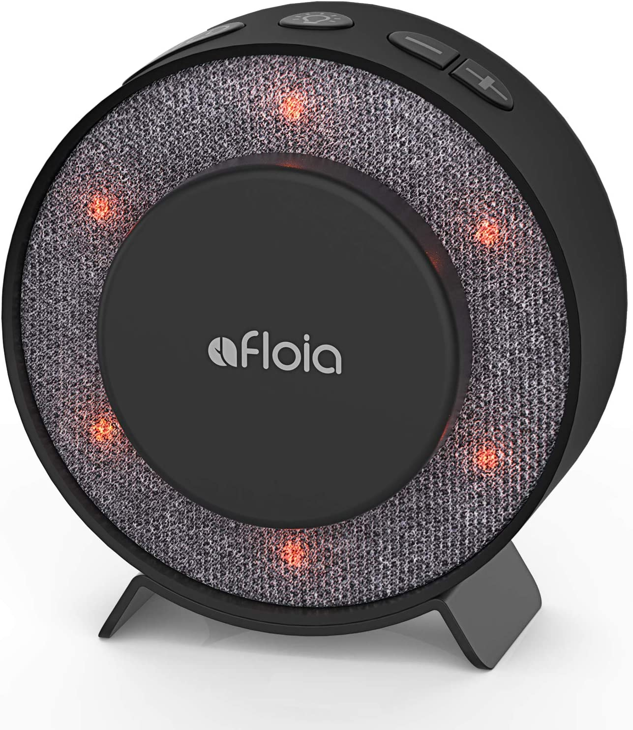 Afloia White Noise Sound Machine for Sleeping Baby Kid Adult, 6 High Fidelity Sleep Machine Soundtracks, Night Light and Timer, Noise Machine for Home Nursery Office(Black)