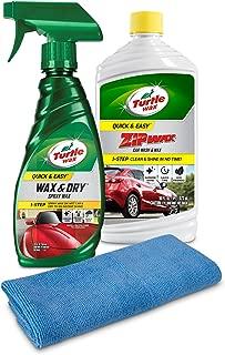 Turtle Wax 50823 Quick & Easy Wash & Wax Kit, 28. Fluid_Ounces