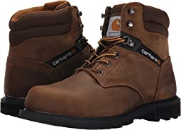 "Carhartt Traditional Welt 6"" Steel Toe Work Boot"