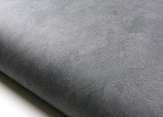ROSEROSA Peel and Stick PVC Faux Concrete Decorative Instant Self-Adhesive Covering Countertop Backsplash Gray (DM224 : 2.00 Feet X 6.56 Feet)