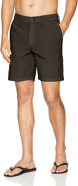 RVCA Mens Canvas All Time Hybrid Short