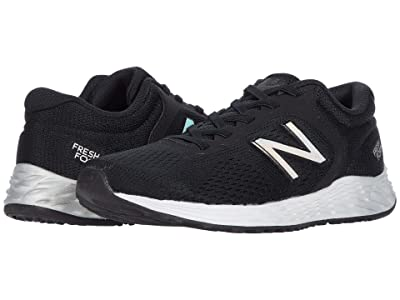 New Balance Kids Fresh Foam Arishi v2 Bungee (Little Kid/Big Kid) (Black/Silver) Boy