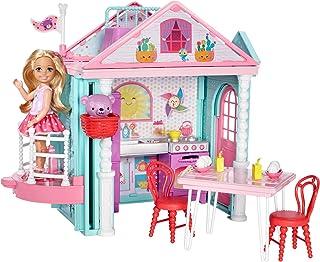 comprar comparacion Barbie - Casita de Chelsea con accesorios - casa muñecas - (Mattel DWJ50)