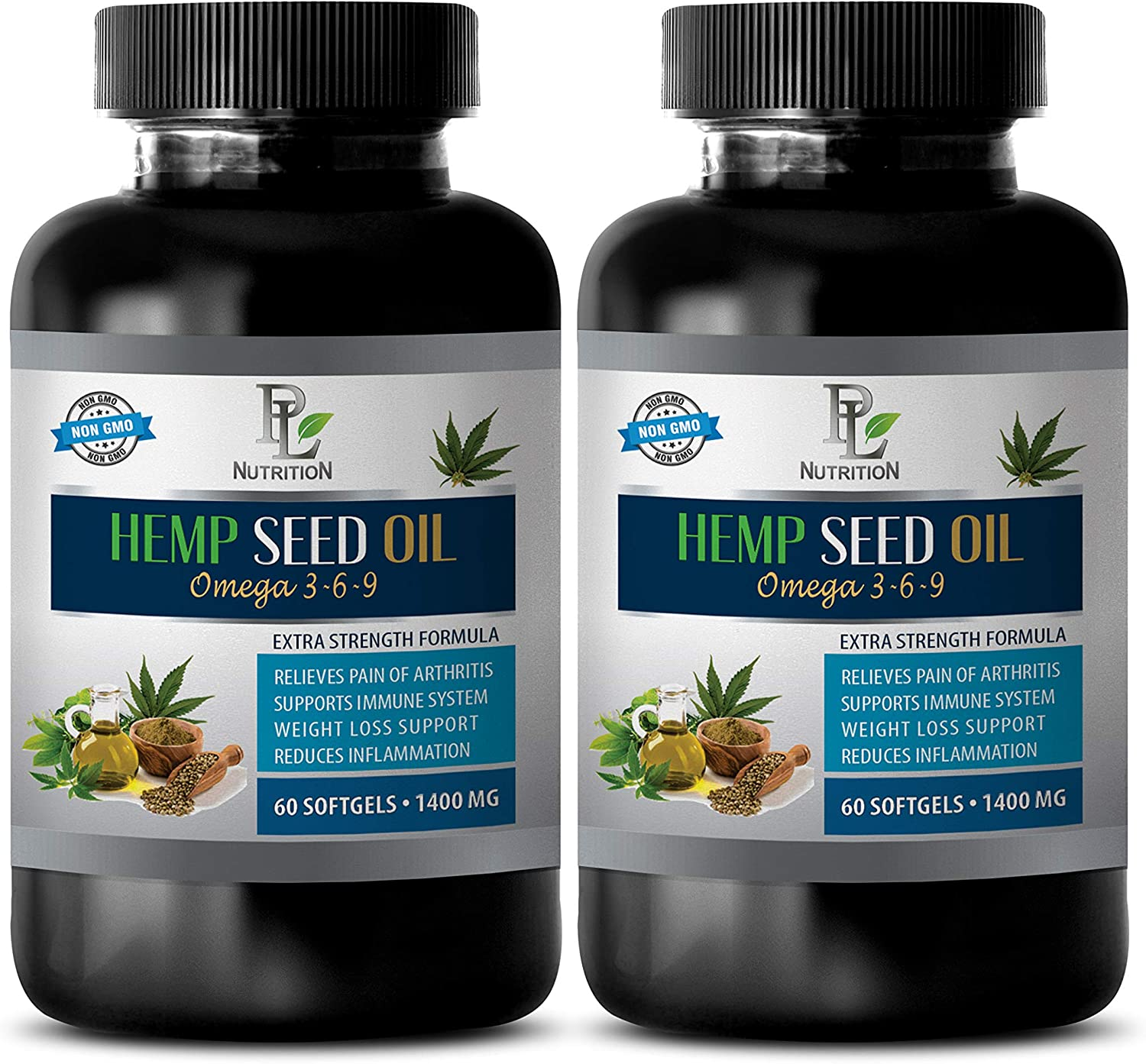 New Bombing free shipping color Anxiety Relief Capsules - Hemp Oil 1400m Pain Organic for