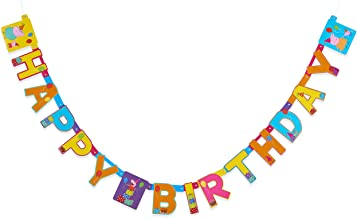 American Greetings Peppa Pig Birthday Party Banner, 1-Count