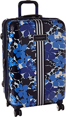 "Floral 25"" Upright Suitcase"