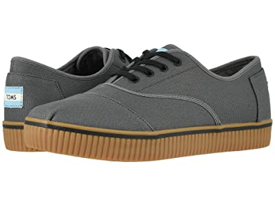 TOMS Venice Collection Cordones Indio (Forged Iron Rugged Canvas) Men