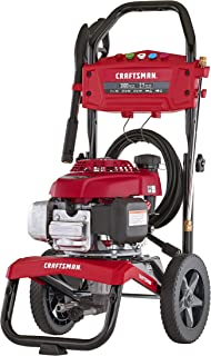 CRAFTSMAN CMXGWAS021023 3100 MAX PSI 2.7 MAX GPM Gas Pressure Washer Powered by Honda 187cc Engine, Made in USA with Global Materials