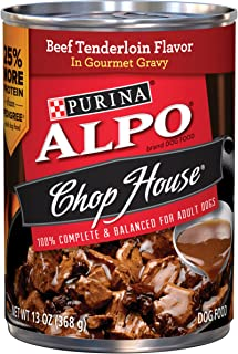 Purina ALPO Chop House in Gourmet Gravy Adult Wet Dog Food - (12) 13 oz. Cans
