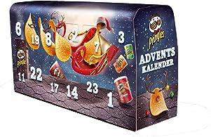 """""""Pringles"""" Chips-Adventskalender Dunkelblau, 1120 g"""