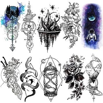 Frau ganzer arm tattoo Tattoo Bilder