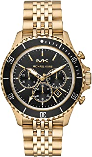 Michael Kors Mens Quartz Watch, Chronograph Display and Stainless Steel Strap MK8726