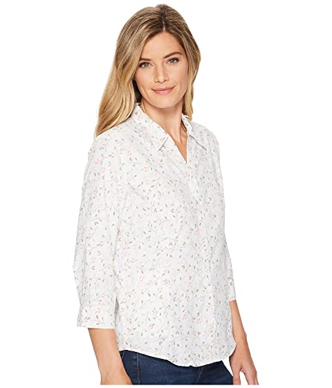 Royal Robbins Expedition Chill Print 3/4 Sleeve Top White Print Latest Cheap Price Sale Low Shipping jlBWgeqOqK