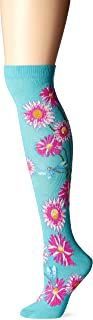 Ozone Women's Dragonflies and Daisies Knee High Sock