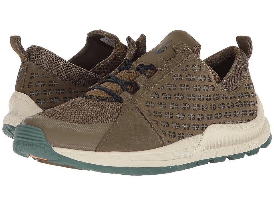 The North Face Mountain Sneaker (Beech Green/Urban Navy) Men