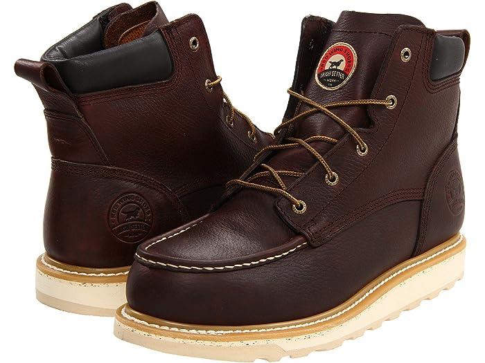 Irish Setter Mens 83606 6 Aluminum-Toe Work Boot