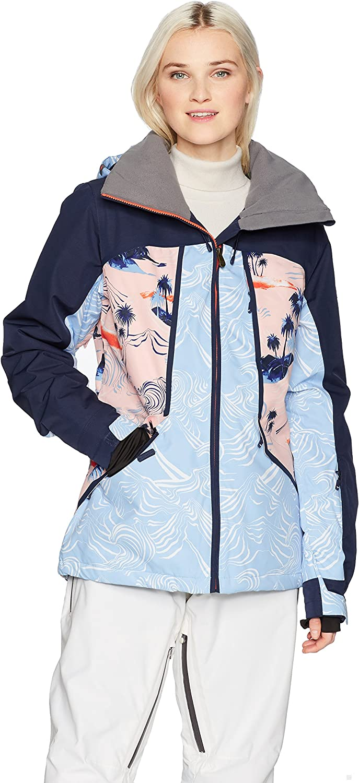 Roxy Damen Wildlife Snow Jacket Isolierte Jacke