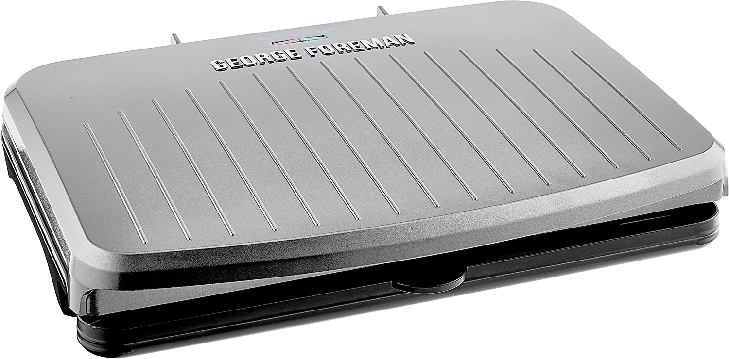George Foreman GRS120GT Gray Serving Popular brand 9 25% OFF
