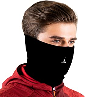 Face Mask Reusable with Filter – Balaclava Neck Gaiter – Face Cover for Dust