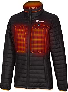 Women's Heated Jacket with Battery Pack - Insulated...