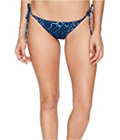 Lucky Brand - Shibori Tie Side Hipster Bottom