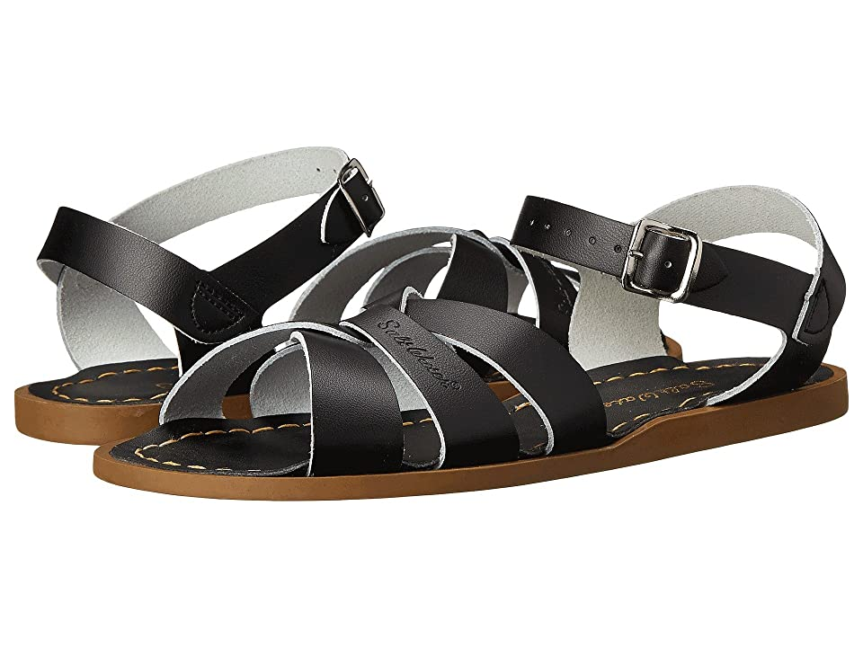 Salt Water Sandal by Hoy Shoes The Original Sandal (Big Kid/Adult) (Black) Girls Shoes