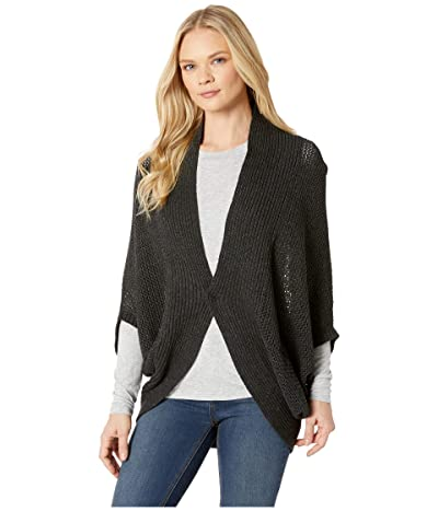 Prana Lima Cardigan (Charcoal Heather) Women