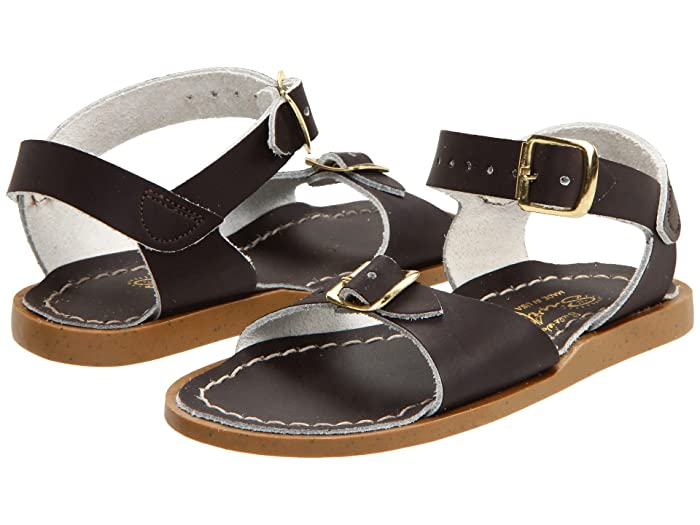 Salt Water Sandal by Hoy Shoes  Surfer (Toddler/Little Kid) (Brown) Kids Shoes