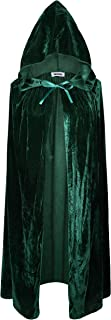 VGLOOK Kids Hooded Cloak Cape for Christmas Halloween Cosplay Costumes ages3 to 16