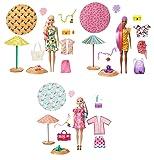 バービー(Barbie) カラーリビール!サマーフォーム アソート 【着せ替え人形】【ドール 3体コンプリートセット】【6歳~】 986A-GTR91