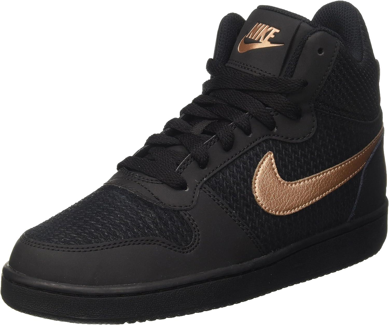 Nike Damen W Court BGoldugh Mid Prem Basketballschuhe  | Gemäßigten Kosten