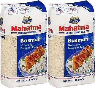 Mahatma Basmati Rice, Regular Grain, 32 oz (pack of 2)