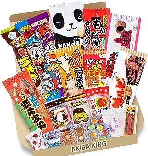 comprar comparacion Trial Prueba japonesa Candy Dagashi snack Box 20pcs con adhesivo AKIBA KING