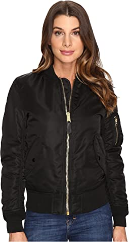 2f7adbe835 The north face womens brenda bomber jacket tnf black