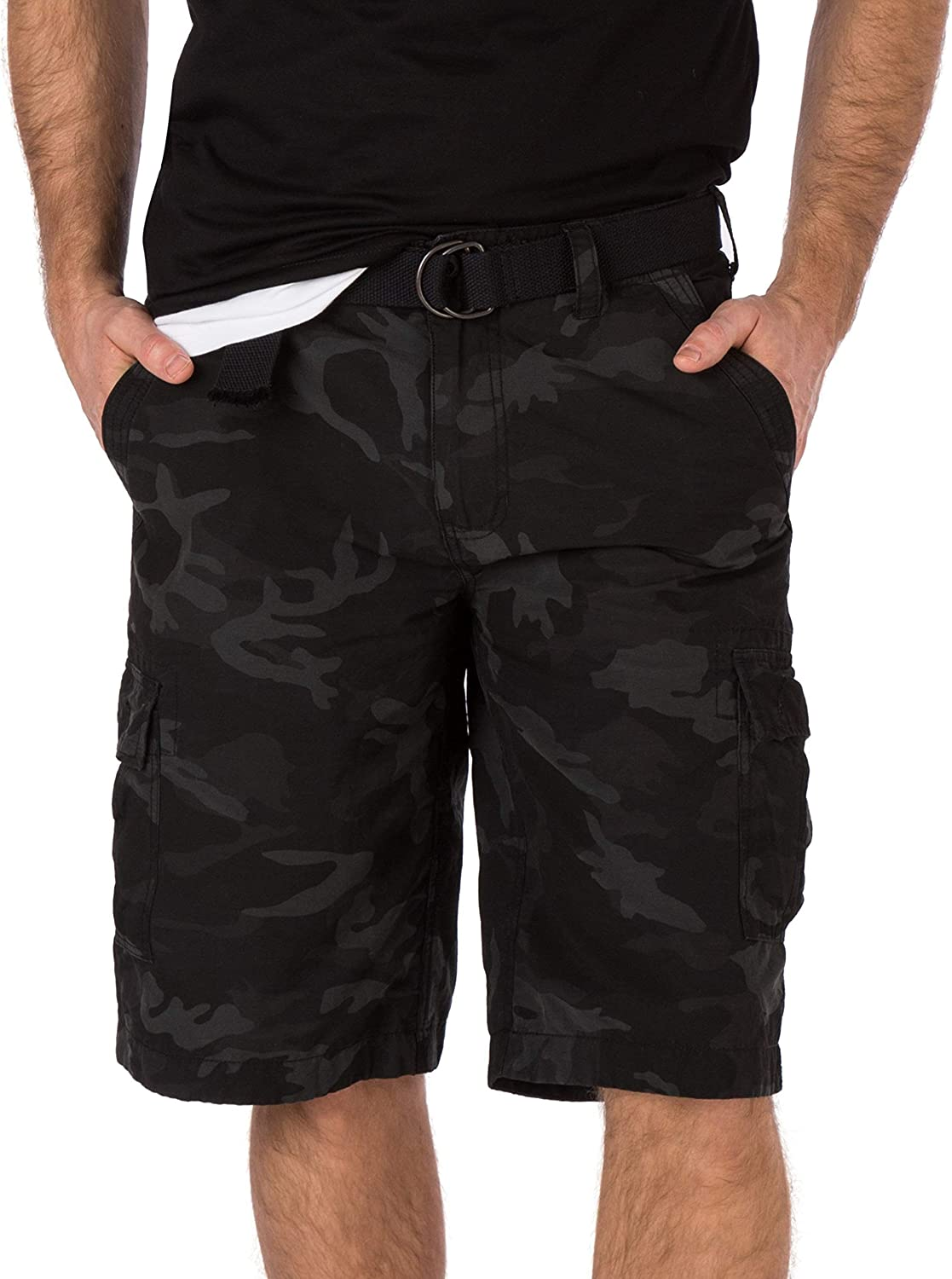 Legacy Black Camo Outlet SALE Cargo Short Over item handling ☆ with 13