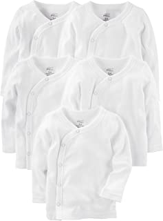 Baby 5-Pack Side-Snap Long-Sleeve Shirt