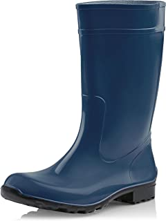 Ladeheid Botas de Agua Antideslizantes en PVC Mujer LA-967