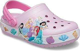 Crocs Kids' Fun Lab Baby Shark Band Clog | Slip On Shark Shoes for Kids