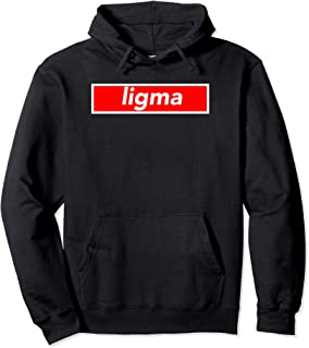 Ligma Hoodie Meme Red Box Logo