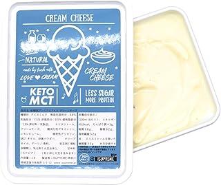 ISUPREME 糖質オフ スイーツ プレミアムアイス 大人レモンピールが隠し味のクリームチーズ味 (1000ml) カラダにうれしい、人工甘味料不使用・100%自然素材