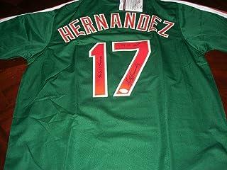 Keith Hernandez Signed Jersey - Green 86 Ws Champs 79 Nl Mvp coa - JSA Certified - Autographed MLB Jerseys
