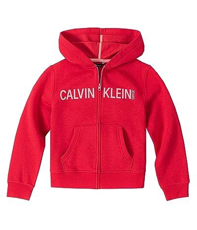 Calvin Klein Logo Zip Front Hoodie