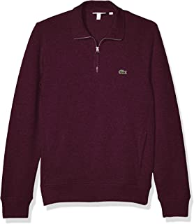 Lacoste Mens Interlock Solid Classic Sweatshirt