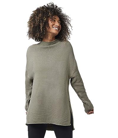 PACT Organic Cotton Sweater Tunic (Mink Grey) Women