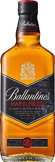 Ballantines Hard Fired Blended Scotch Whisky – Hard fired Whisky aus doppelt ausgebrannten Eichenfässern für einen besonders rauchig & würzigen Geschmack – 1 x 0,7 L