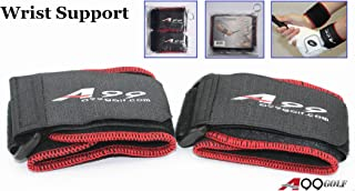 A99 Golf Wrist Wrap Support Elastic Brace Sport Protector 1 Pair