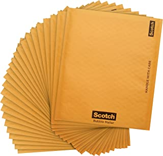Scotch Bubble Mailer, 8.5 x 11-Inches, Size #2, 25-Pack